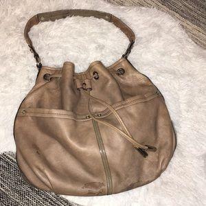 B. Makowsky leather hobo shoulder bag purse